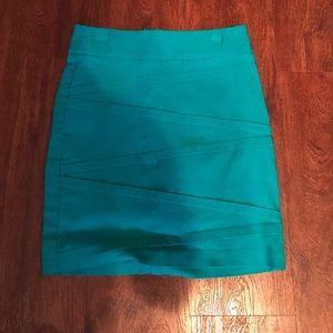 Dresses & Skirts - Blue bandage shirt